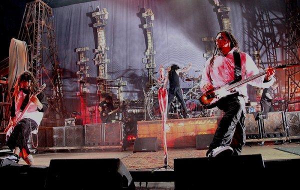 Korn Mayhem festival 2010
