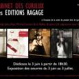 En juin le Cabinet des Curieux à accueillit les éditions Ragage , où c'est tenu l'expo de Lynn SK et Martial Lenoir entre autre . Une interview viens d'être diffusée...