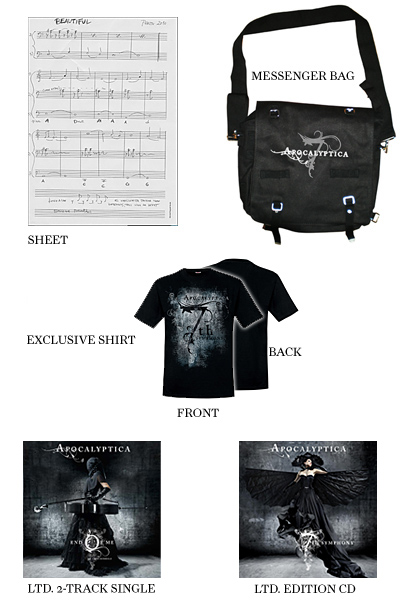 Apocalyptica cello package