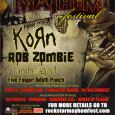 Korn nous offre, par le biais de Roadrunner Record,s une petite série de photos de leur passage au festival «Rockstar Energy Mayhem » qui se déroule actuellement aux States et...