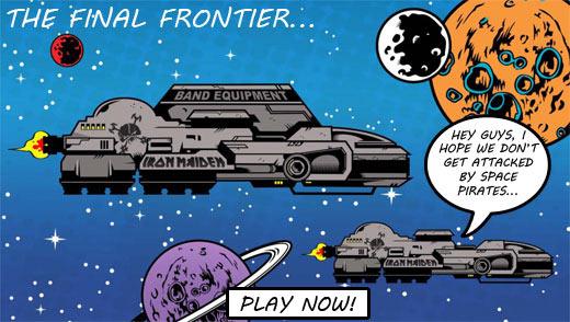 iron maiden space pirates