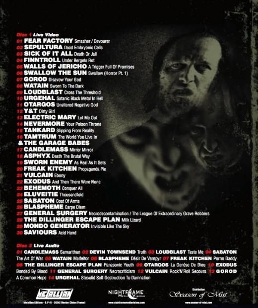 hellfest DVD 2010