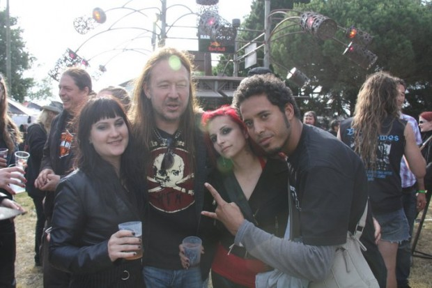 Joacim Cans - Abdou Bourkia - Bloody Blackbird - Hellfest 2011