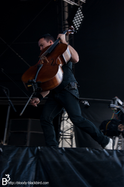 Apocalyptica - Hellfest 2011