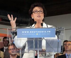 Christine Boutin Présidente