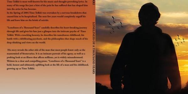 J'avais parlé du nouveau livre de Timo Tolkki (Revolution Renaissance – ex Stratovarius), nommé «Loneliness of a Thousand Years»(15 euros) et prévu pour le 1er Octobre 2010. et j'en reparle...